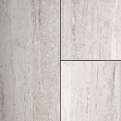 24 x 12 Graystone Travertine Porcelain Tile